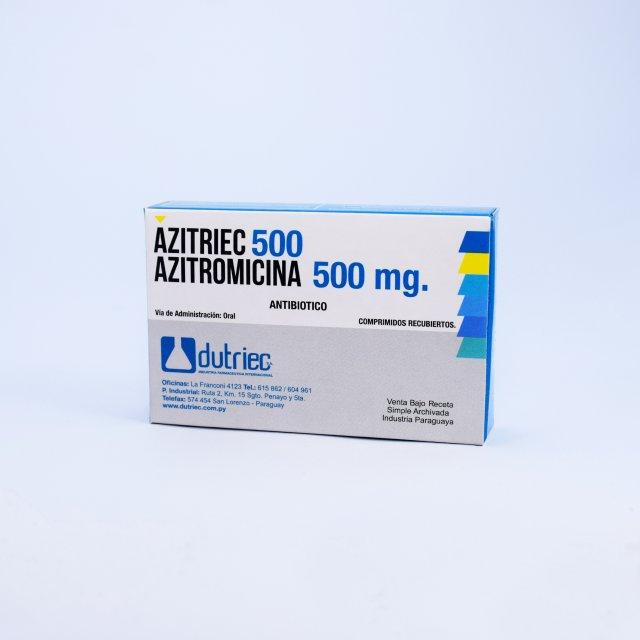 AZITRIEC  500 MG. DUTRIEC